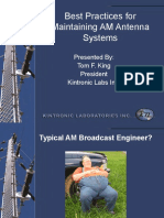 Best Practices for Maintaining AM Antenna Systems