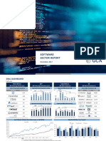 Software Sector Report 1.16.2018