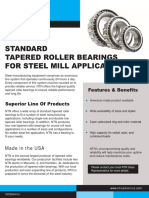 Standard Tapered Roller Bearings for Steel Mill Applications Taper 0410-1 Lowres