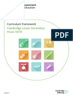 Lower Secondary Music Curriculum Framework 2019