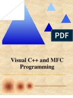 Visual Cpp and MFC Programming