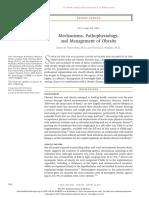 Mechanisms, Pathophysiology, And Management of Obesity
