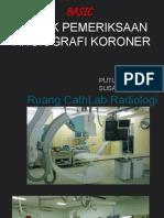 Teknik Pemeriksaan Angiografi Koroner