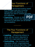 Functions of Management..