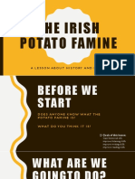 The Irish Potato Famine Lesson