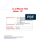 28_Sources of Magnetic Field _R K Parida