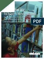 Diverse City, White Curriculum