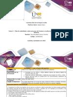 Formato Tarea 4 -Diseñar Un Plan de Actividades Sobre Procesos de Escritura Para Niños de Primera Infancia