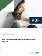 SAP Cloud Platform Identity Authentication Service