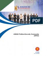 Asean Political Security Community