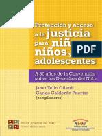 """CSJPerú - """"Protección y acceso a la justicia para niñas, niños y adolescentes. A 30 años de la Convención sobre los Derechos del Niño""""."""