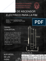 Diseño Conceptual Del Ascensor Eléctrico