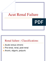 Acut Renal Failure