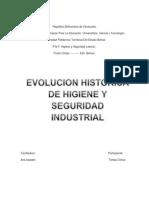 evolucion historia de higiene y seguridad industrial