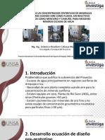 PPT Ponencia LATINOMETALURGIA Federico Calisaya (Nov 2019)