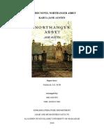 ANALISIS NOVEL NORTHANGER ABBEY.docx