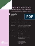 2013 Cadernos de Estudos Avancados Em Design Emocao Bilingui Vol 8