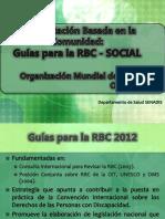 5. Componente Social - Guías Para La RBC OMS_2012