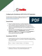 Grand Stream g Xp 2130 Cfg Guide