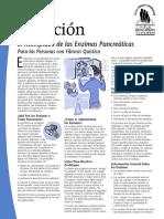 16 Nutricion El Reemplazo de Las Enzimas Pancreaticas Para Las Personas Con Fibrosis Quistica