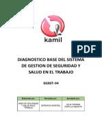 4.- Diagnostico Base Del Sgsst