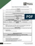 Ficha de Manejo Programas Ambientales Sigeam v1.0