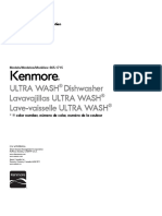 Kenmore Dishwasher Manual