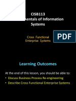Chapter 5 Cross Functional Enterprise Systems