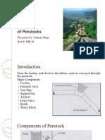Design of Penstock