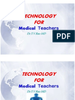 Technology for Medical Teachers