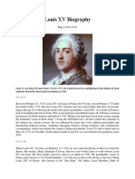 Louis XV Biography