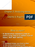 CLAIMS AND ARGUMENTS.ppt