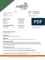 elite equipment stock catalog