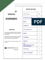 Korando-Service_II Completo Español