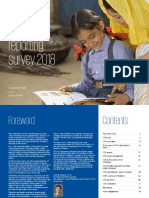 India CSR Reporting Survey 2018