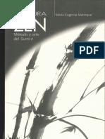 Manrique, Maria Eugenia - Pintura Zen. Método y Arte Del Sumi-e