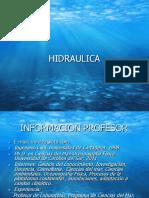 introduccion hidraulica