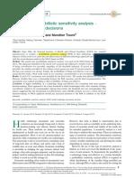 BENEFITS of Probabilistic Sensitivity Analysis