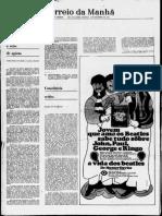 COUTINHO, C. N.; Konder, L. - Resenha no Jornal  Correio Da Manhã 1968-Páginas-64