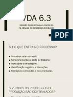 VDA 6.3 REVISÃO P6
