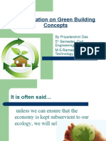 Presentation on Green Building Concepts