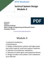 EE405 M3-Electrical System Design-ktustudents.in