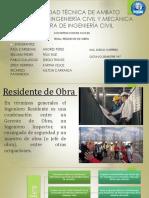 Residente de Obra Grupo