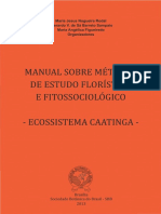 Manual de Fitossociologia