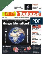 La Une de Côté Toulouse cette semaine