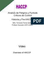 Desarrollo Del HACCP