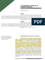 5.1 -Maria Rita Kehl - O Ressentimento Camuflado Da Sociedade Brasileira