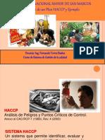 Desarrollo de Un HACCP y Ejemplo