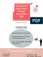 final report agb food   product innovation 456