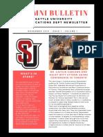 comms dept newsletter 1-2